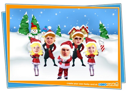 Create and Send Funny Christmas Cards via CardFunk
