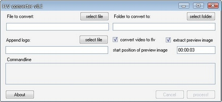 how to add flv file